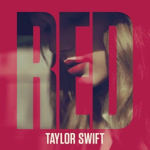 Carátula delantera del CD RED de Taylor Swift (Deluxe Version)