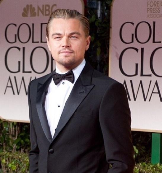 Leo DiCaprio_Globos de Oro 2014