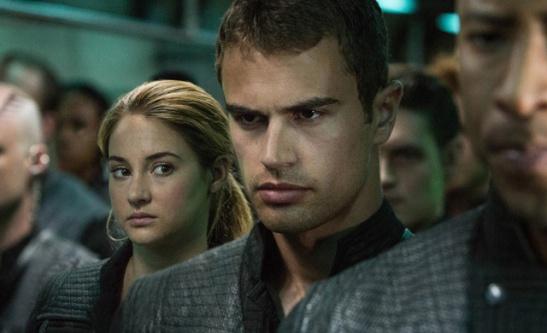 Fotograma de la película Divergente
