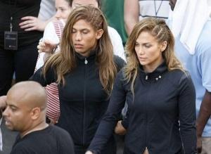 Daniel Arroyo y Jennifer Lopez