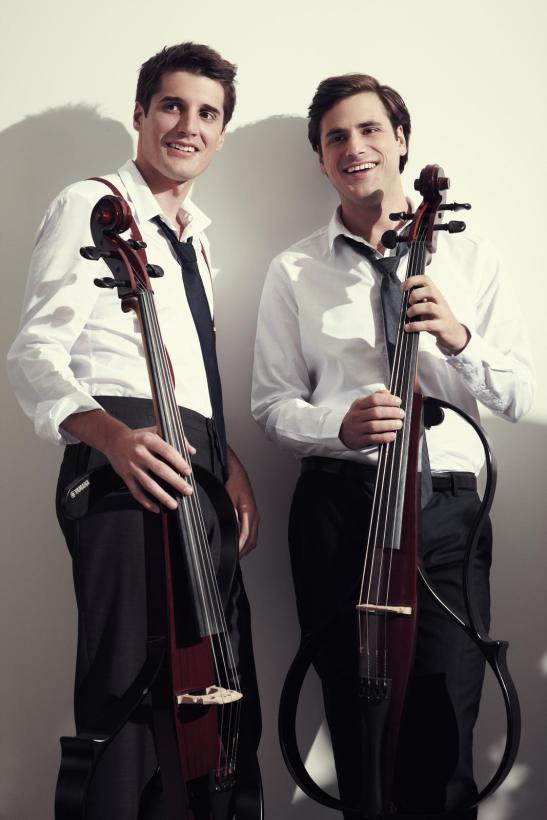 2CELLOS, los artistas modernos del violonchelo
