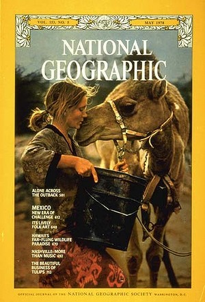 Portada de National Geographic, mayo 1978