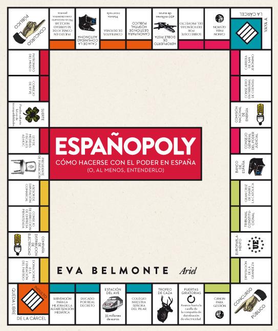Portada del libro 'Españopoly'