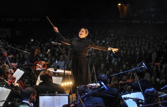 Imagen del concierto en Las Ventas, Madrid