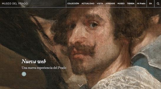 Web del Museo del Prado