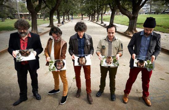 Los cinco miembros de El Cuarteto de Nos.